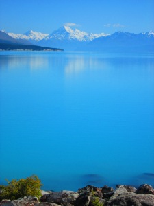 Mt.Cook reinando el lago Pukaki